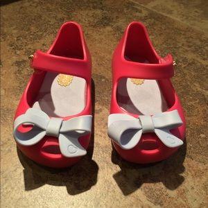 Mini Melissa Peep toe shoe